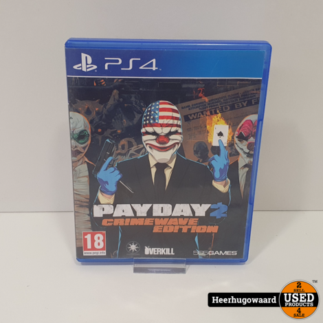 PS4 Game: Payday 2 Crimewave Edition