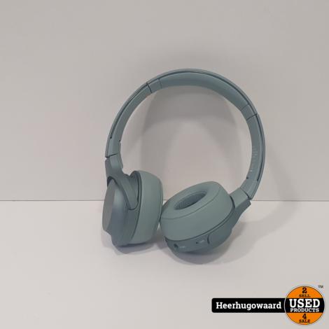 Sony H.ear On 2 Bluetooth Koptelefoon Groen Compleet in Nette Staat