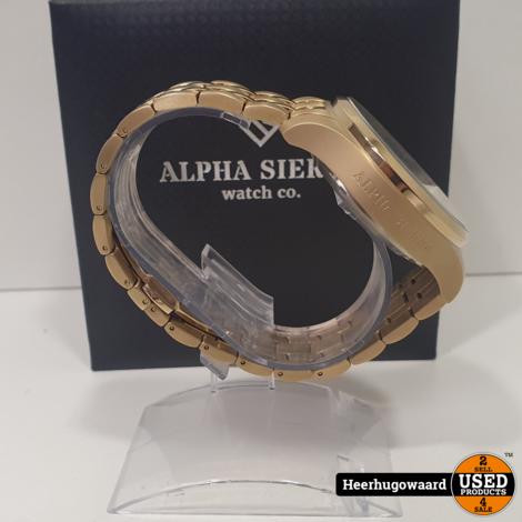 Alpha Sierra Automatic AMS03 Horloge ZGAN in Doos