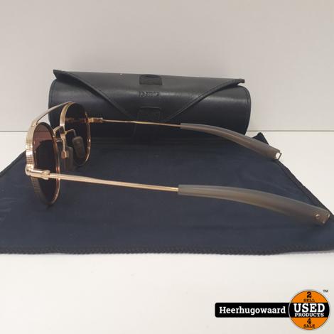 Dita Lancier LSA-103 Zonnebril Gold Compleet in Nieuwstaat