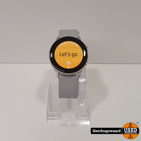 Samsung Galaxy Watch Active 40mm Silver in Goede Staat