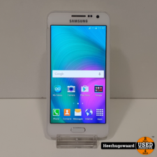 Samsung Samsung Galaxy A3 2015 16GB White in Goede Staat