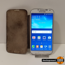Samsung Galaxy S4 16GB White in Goede Staat