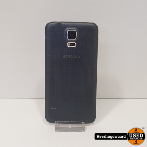 Samsung Galaxy S5 16GB Black in Goede Staat