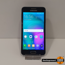 Samsung Samsung Galaxy A3 2015 16GB Black in Goede Staat