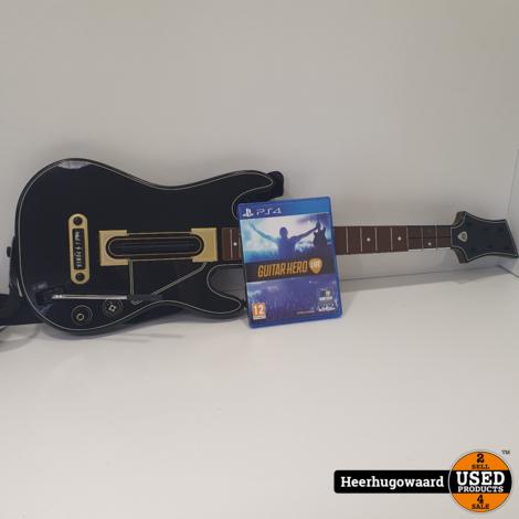 PS4 Game: Guitar Hero Live incl. Gitaar in Goede Staat