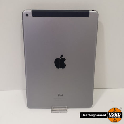 iPad Air 2 64GB Space Gray Wifi + 4G in Nette Staat