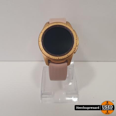 Samsung Galaxy Watch 42mm Gold in Doos in Nette Staat