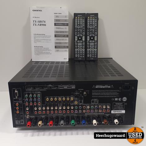 Onkyo TX-SR876 AV Receiver 870W Compleet in Doos in Zeer Nette Staat