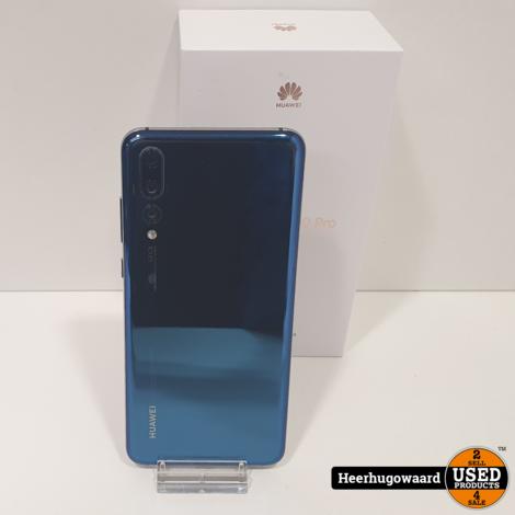 Huawei P20 Pro128GB Midnight Blue in Zeer Nette Staat