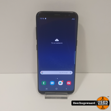 Samsung Galaxy S8 64GB Midnight Black in Goede Staat