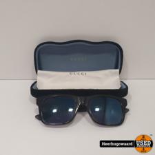 Gucci GG0008S Heren Zonnebril incl. Koker in Goede Staat