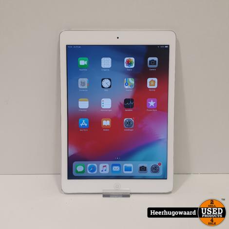 iPad Air 1 16GB Wifi Silver in Nette Staat