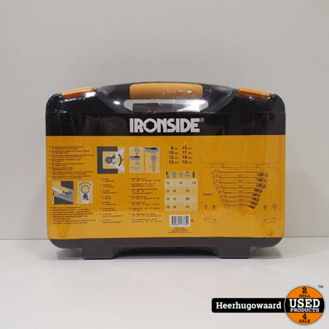 Ironside Ratelsleutelset 12 Delig 117335 Nieuw in Seal