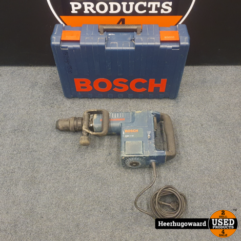 Bosch GSH 11 E SDS-Max Breekhamer 1500W in Goede Staat