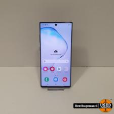 Samsung Galaxy Note 10 Plus 256GB Black in Zeer Nette Staat