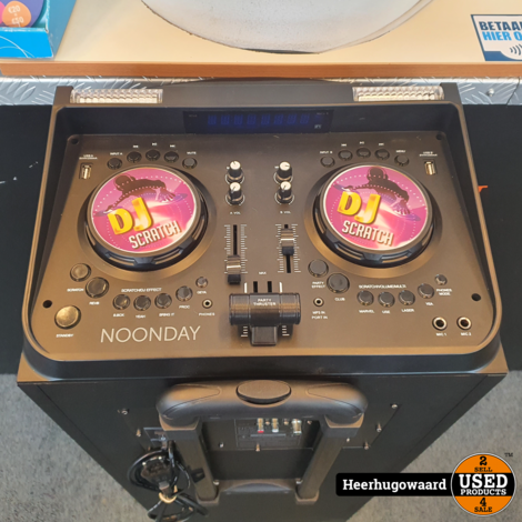Noonday SP-150BL DJ Party Tower XXL Compleet in Nette Staat