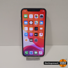iPhone X 64GB Silver in Goede Staat - Accu 85%