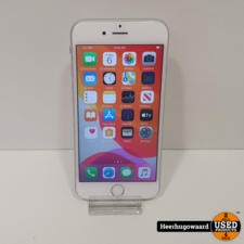 iPhone 6S 64GB Silver in Nette Staat
