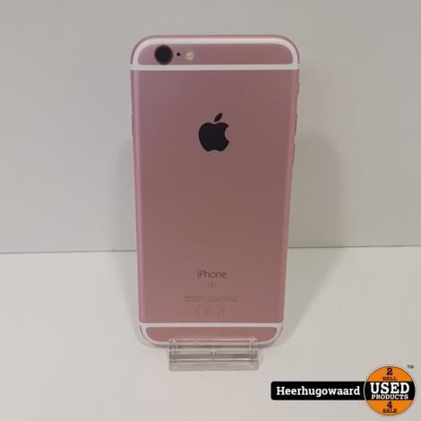 iPhone 6S 128GB Rose Gold in Zeer Nette Staat