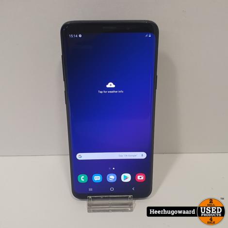 Samsung Galaxy S9 Plus 128GB Black in Nette Staat