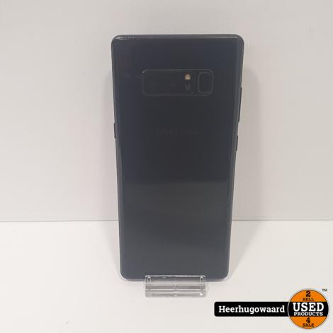 Samsung Galaxy Note 8 64GB Black in Nette Staat