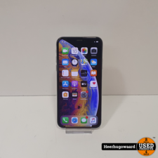 iPhone XS 64GB Silver in Nette Staat - Accu 97%