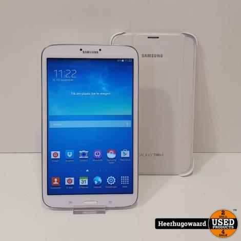Samsung Galaxy Tab 3 8'' 16GB WiFi in Zeer Nette Staat