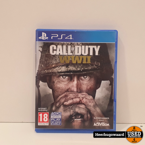 PS4 Game: Call of Duty World War II