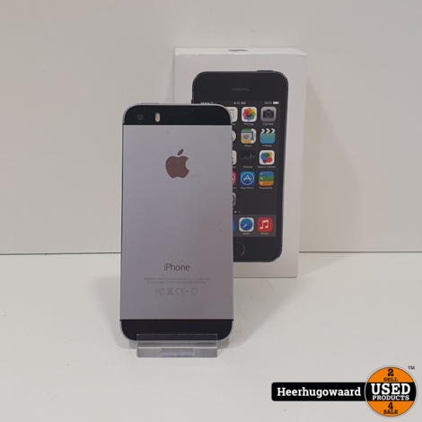 iPhone 5S 16GB Space Grey in Goede Staat
