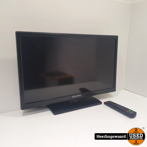 Salora LED2480CAH 24'' HD Ready LCD TV incl. AB in Goede Staat