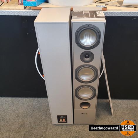 Canton GLE 409 3-weg Speakers 150/320W 4-Ohms in Nette Staat