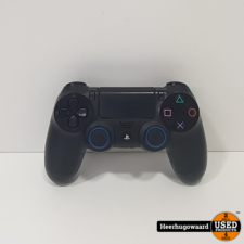 Playstation 4 Controller Zwart  in Goede Staat