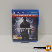 PS4 Game: Uncharted 4 A Thief's End