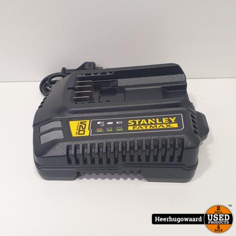 Stanley Fatmax SFMCD711 Schoefboormachine 18V + 2x Accu en Lader NIEUW