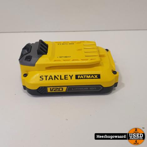Stanley Fatmax SFMCW220 Excentrische Schuurmachine + 1x Accu en Lader