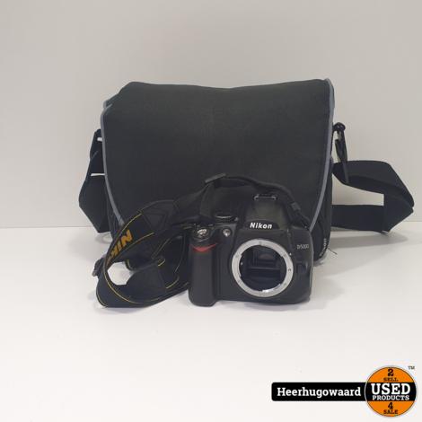 Nikon D5000 Spiegelreflex Camera Body incl. 1x Accu en Lader in Nette Staat