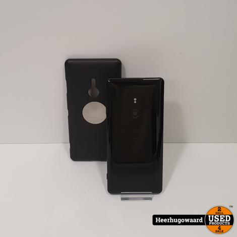 Sony Xpera XZ3 64GB Dual Sim Zwart in Redelijke Staat