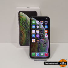 iPhone XS 64GB Space Grey in Doos in Nette Staat - Accu 87%