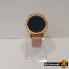 Samsung Galaxy Watch 42mm Gold in Nette Staat