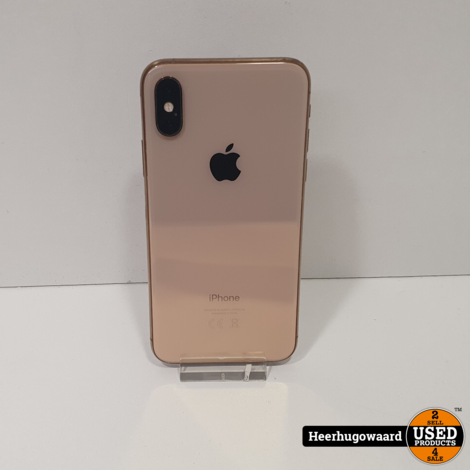 iPhone XS 64GB Gold in Goede Staat