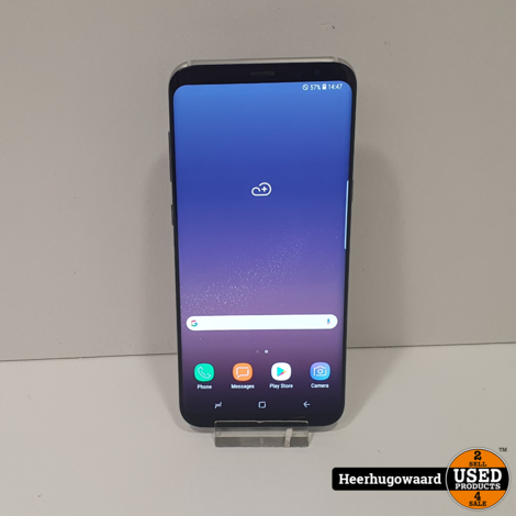 Samsung Galaxy S8 Plus 64GB Silver in Zeer Nette Staat