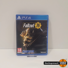 PS4 Game: Fallout 76