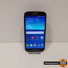 Samsung Galaxy S4 16GB Black in Nette Staat