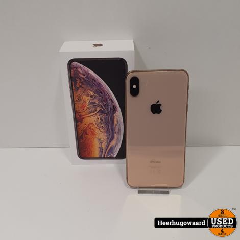 iPhone XS Max 64GB Gold in Zeer Nette Staat - Accu 90%