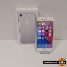 iPhone 7 32GB Silver in Doos in Nette Staat - Accu 88%