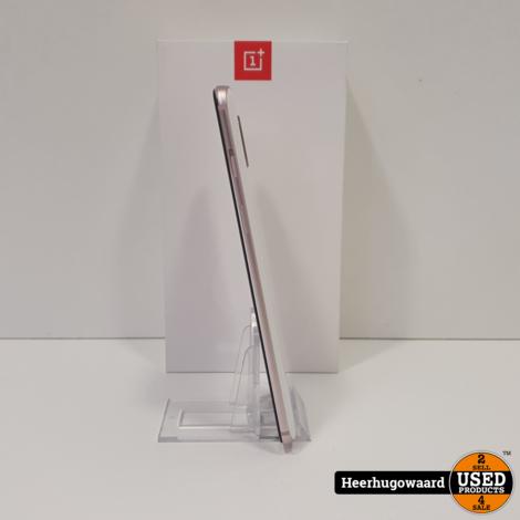 OnePlus 6 128GB Silk White Compleet in Doos in Nieuwstaat