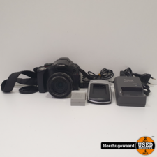 Canon PowerShot SX30 IS Compact Camera 14,1MP in Goede Staat