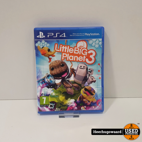 PS4 Game: Little Big Planet 3