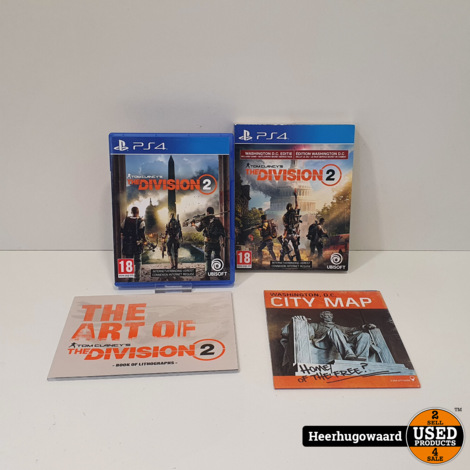 PS4 Game: Tom Clancy's The Division 2 D.C Edition